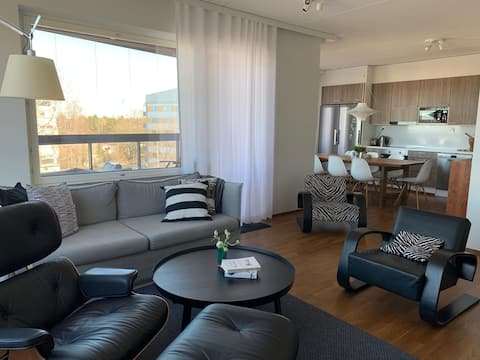 Apartment for 4 persons 96m2 with view to Saimaa