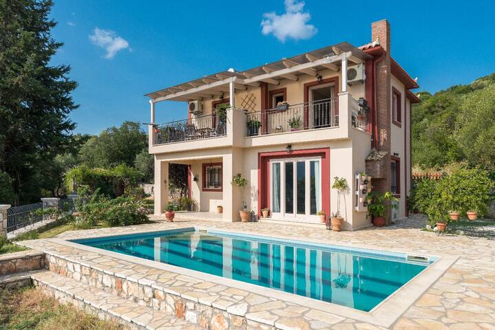 Astonishing Sea View Villa Melisani