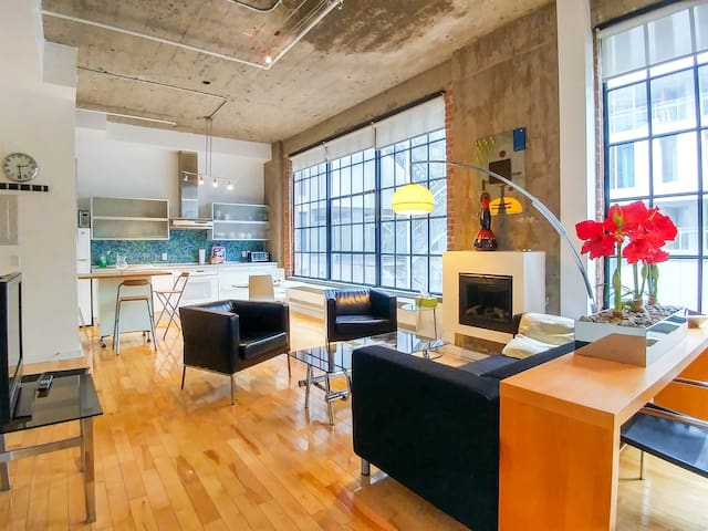 FULLY RENOVATED MODERN CONDO DOWNTOWN MONTREAL