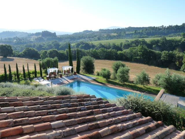 Charming house on the Umbrian hills (FF) - Città della Pieve - Apartemen