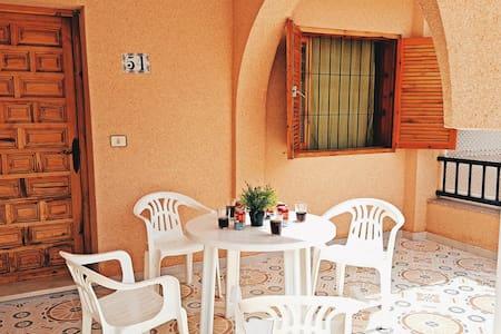 Chalet en Lo Pagán al lado del Mar Menor - San Pedro del Pinatar - Řadový dům