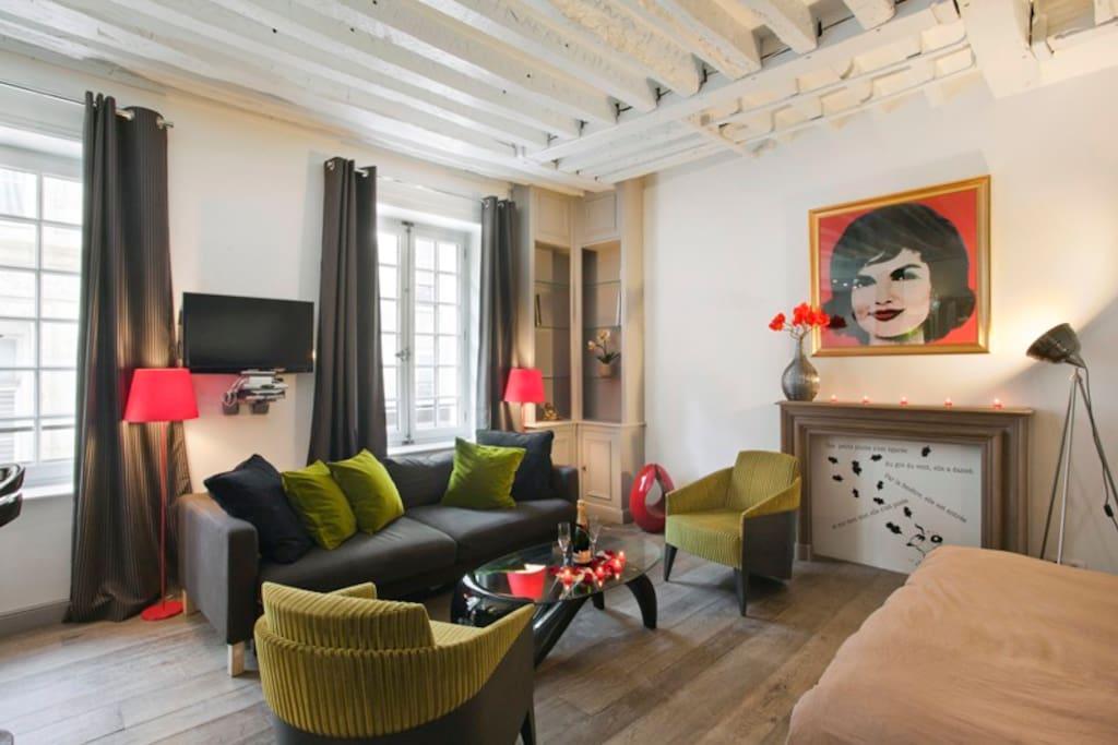 Paris Apartments For Rent Marais