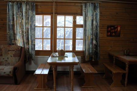 Просторный дом из соснового бруса. - Zheleznodorozhnyy - Bed & Breakfast