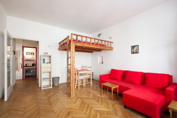 !Winter offer!  NICE CENTRAL FLAT+ BIG BALCONY