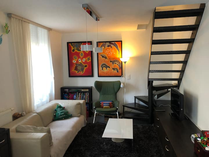 Completely furnished and equipped house