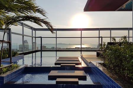 新净 芭提雅精品公寓 位置優越 近海滩 new Boutique Condo Pattaya - Pattaya City - Квартира