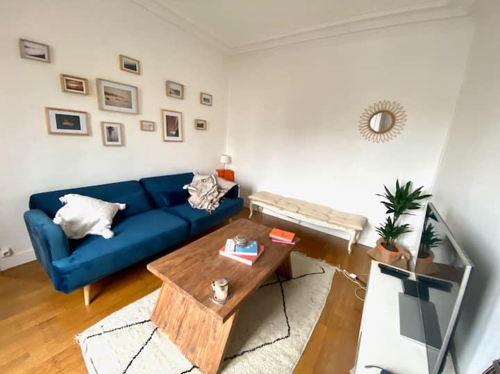 Appartement lumineux idéalement placé