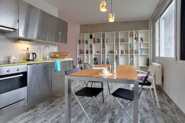 Modern fully furnished studio - Prag - Wohnung