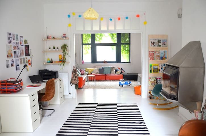 Spatious family house near Brussels