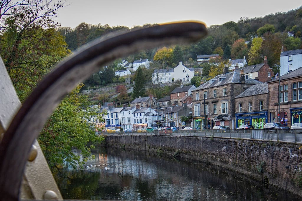 Matlock Bath - described as 'Little Switzerland' by poet Lord Byron.