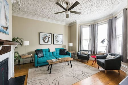 Stylish Halifax Commons Suite With Parking and AC