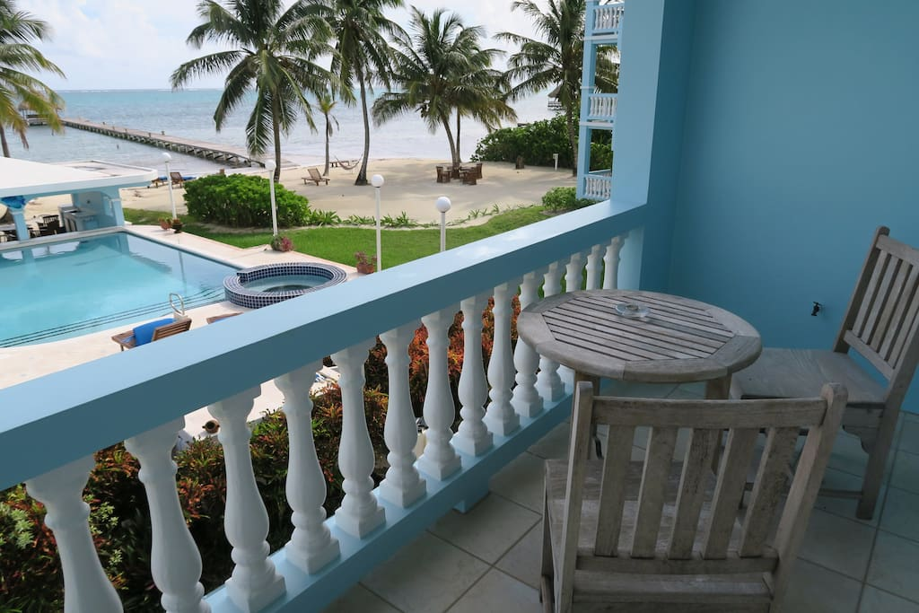 Gorgeous view from your second floor veranda!