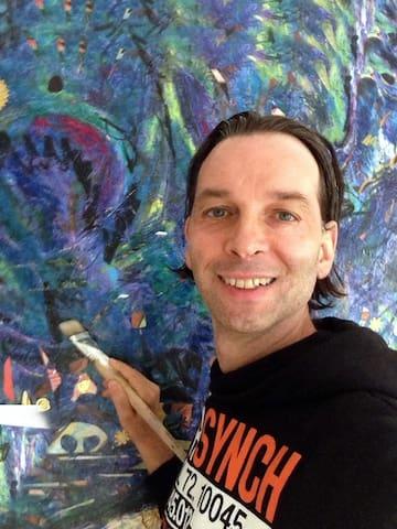 Rashid Salman fine art painter from Berlim