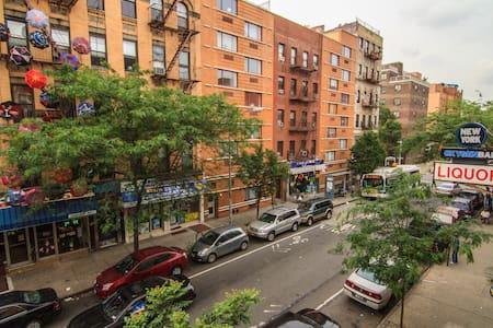 ARTY 2 BED EAST VILLAGE GEM  - New York - Apartment