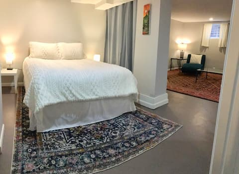 Charming private guest suite < 1 mi from NE DC