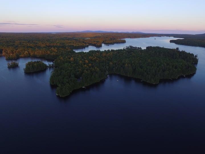 Loon Sound Lake House, Surry, near Acadia Nat. Pk.