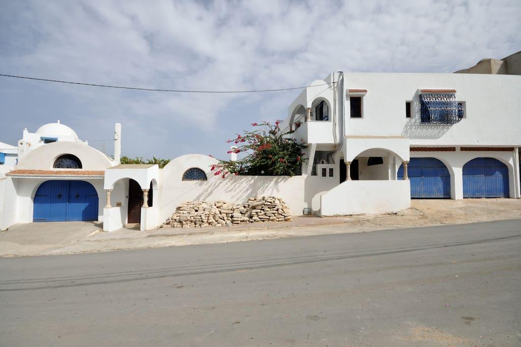 Façade sur Rue El Hamari
