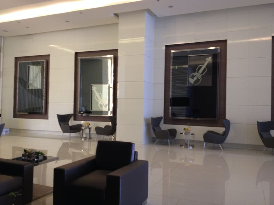 5-star Hotel lobby