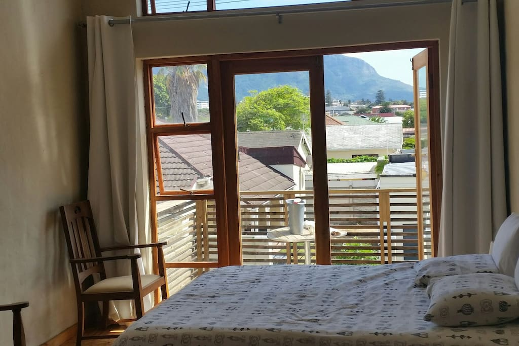 Wake up to magnificent mountain views.