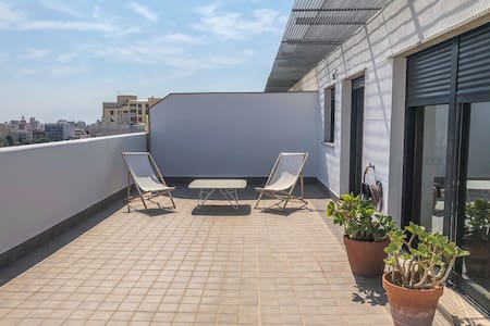 Penthouse with an Open Terrace in Castellon