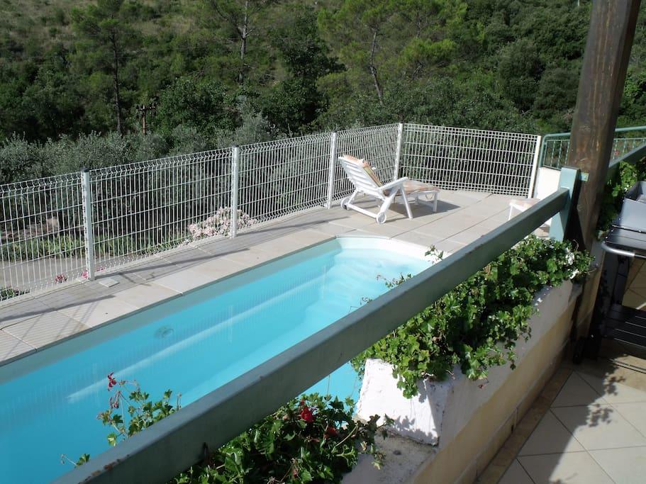 piscine sur terrasse
