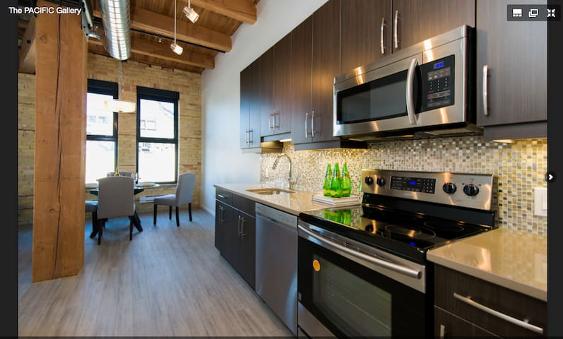 Urban Loft - Exchange District - Winnipeg - Apartment
