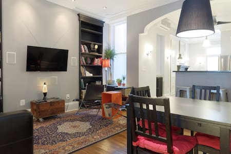 Gracious Historic Townhouse by JHU - Baltimore - Huoneisto