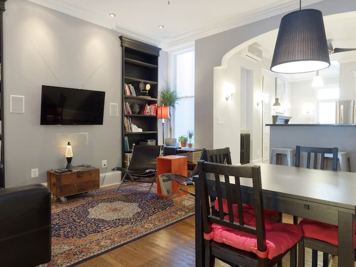 Gracious Historic Townhouse by JHU