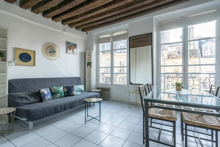💕Spacious studio in Central Marais💕