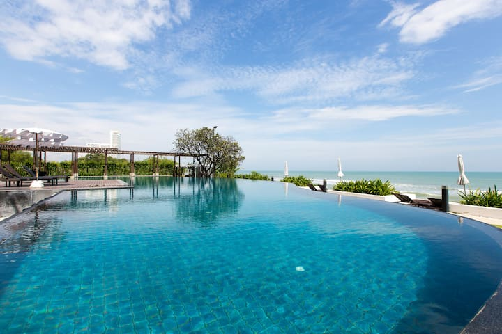 4 Bed Pool Villa @ Seaside Resort คอนโดริมหาดชะอำ - Cha-am - Apartament