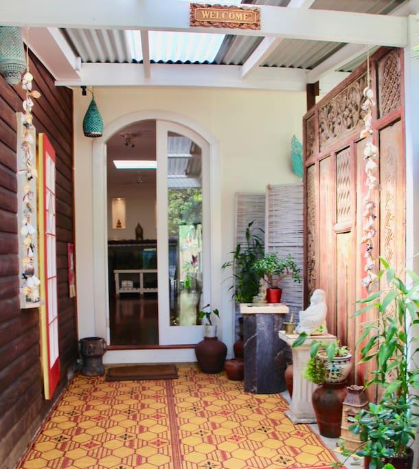 Balyarta Om Main Entrance Welcome!