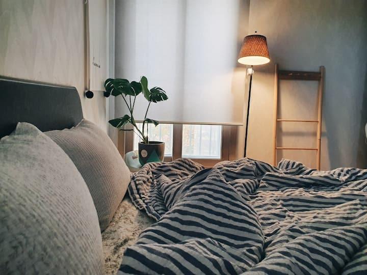 🌵Green Garden-아파트 정원을 품은 깨끗하고 조용한 공간 :)