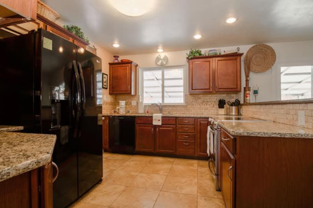 Kitchen has all the amenities you need for cooking and making yourself at home!
