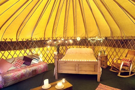 Fantastic yurt in coastal setting
