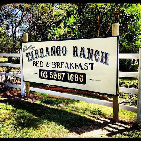 Tarrango Ranch Bed & Breakfast - Yarra Junction - Bed & Breakfast