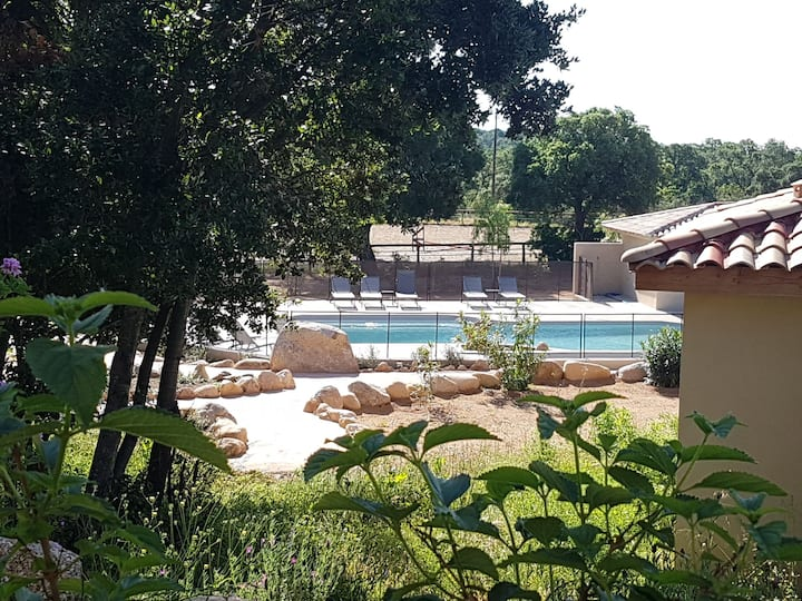 Villas Lantana : Villa T2 neuve 38m2 avec piscine