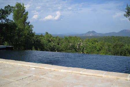 Amazing view near Aix-en-Provence - Bras - House