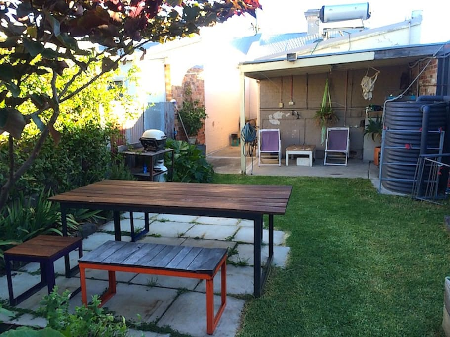 Another view of the outdoor area.