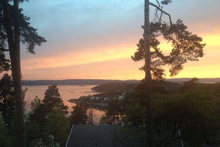 Authentic Neighborhood - Fjord view - Leilighet