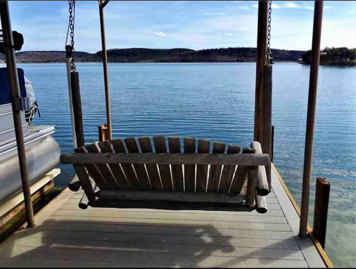 Sittin' on the Dock at PK Enjoy Views & Have Fun