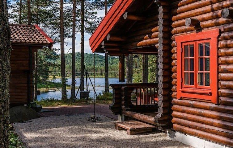 Unikt feriehus i elgens rike! - 4820 Froland - Rumah atas pokok