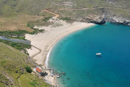 ONAR HOUSE FOR 3 NEAR AMAZING BEACH - Andros - Bed & Breakfast