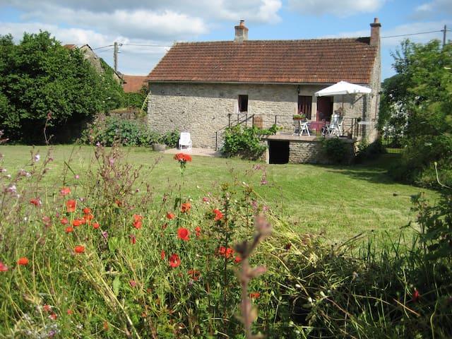 Dorpswoning met zonnig terras (2p.) - Arnay-sous-Vitteaux - Casa