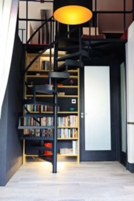 Our lobby library
