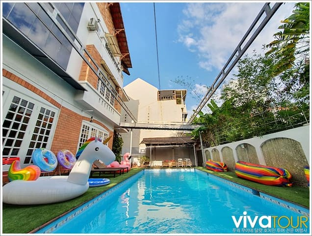 Pool Villa, Tao Dien, District 2, Ho Chi Minh City