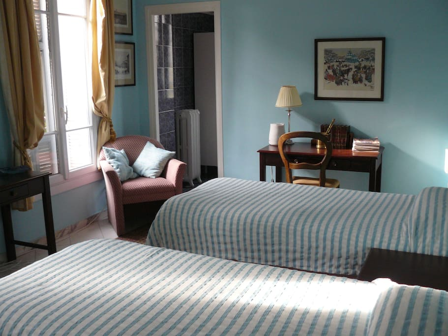 B b parc imperial the aqua room chambres d 39 h tes for Chambre a louer nice france