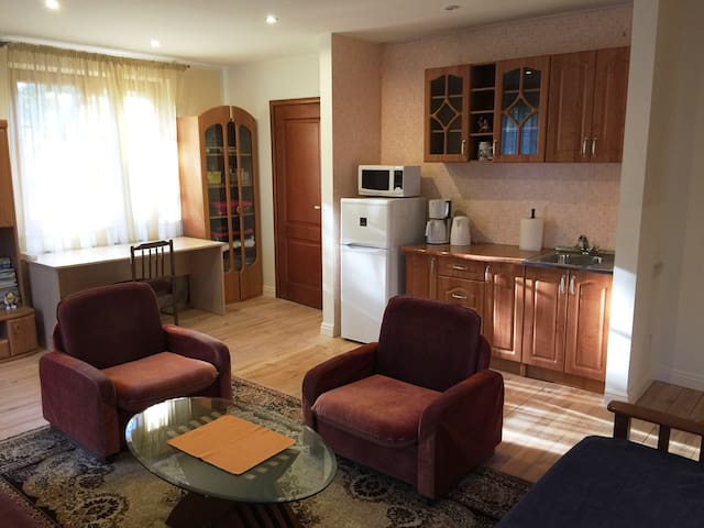 Studio Apartment 300m from the Beach - Riga - Hus