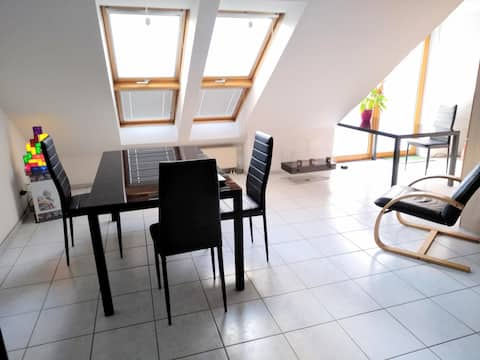 modernes & ruhiges Appartment  in Stutensee  KIT