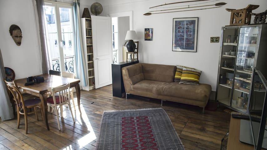 Appartement agréable dans un quartier sympathique