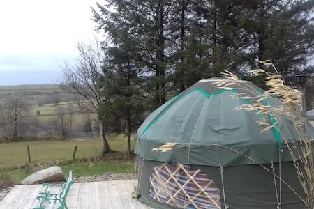 Cosy Cwtsh Yurt- Perfect for couples & individuals